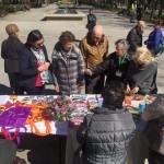 La alcaldesa de Puertollano suma su apoyo a los enfermos de parkinson