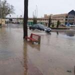 Protección Civil pide precaución a los conductores por la aparición de balsas de agua en la Ronda