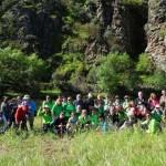 Puertollano: Itinerario senderista del Club Pozo Norte por el cauce del río Jándula