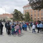 Ciudad Real: Simulacro de emergencia y evacuación en el Colegio San Francisco de Asís