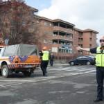 Suenan las sirenas en la Residencia de Mayores de la calle Gregorio Marañón