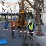 Dos perforaciones de 15 metros para conocer lo que se oculta bajo la Plaza Cervantes