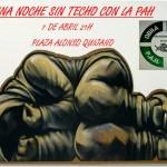Argamasilla de Alba: 'Una noche sin techo con la PAH'