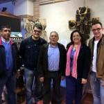 Antonio Millán transforma materiales reciclables en arte en su nueva exposición, en el Museo Etnográfico de Villarrubia de los Ojos
