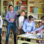 Inmaculada Jiménez inaugura la biblioteca del colegio Almirante Topete