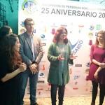 Pilar Zamora celebra con la Asociación de Personas Sordas de Ciudad Real su 25 aniversario