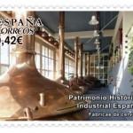 Un sello de Correos para la Cerveza en España