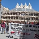 1º de Mayo: La CNT reivindica el «orgullo de la clase obrera»