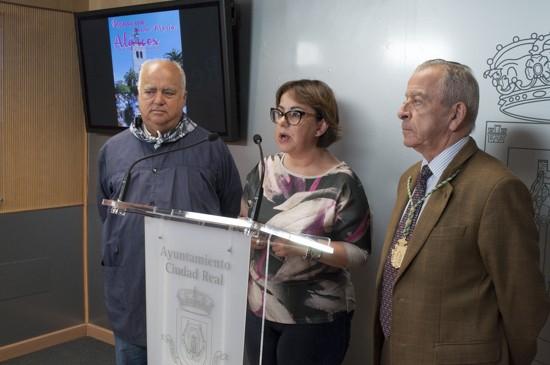 Juan Alba, Manoli Nieto y Antonio Baptista