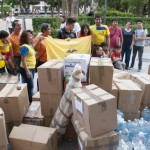 """Una tonelada de """"reconfortante"""" solidaridad con Ecuador"""