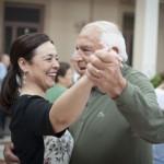 Bailes de Mayores: El primer pasodoble en el Antiguo Casino