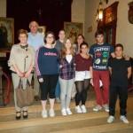El duque de Westminster paga un viaje a Irlanda a seis estudiantes almodoveños para aprender inglés