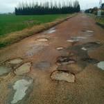 Arreglo de los caminos en Las Casas, «intransitables tras años de abandono»