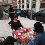 Ciudad Real: Colectivo Kokoro saca a la calle el arte de la caricatura y el retrato