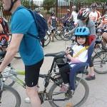 Más de cien ciclistas pedalean por SOLMAN