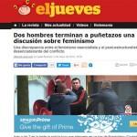 """Puertollano, en la sección """"Manda güevos"""" de El Jueves por una delirante parodia sobre el feminismo"""