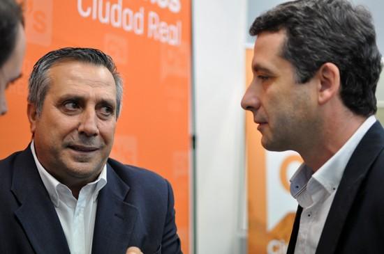 Antonio López (izquierda) y Esteban Paños