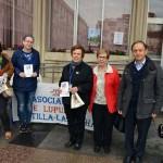 Ciudad Real:Nicolás Clavero participa en la cuestación de la Asociación Manchega de Lupus