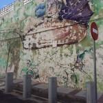 """Puertollano: El mural """"para la posteridad"""" que acabó desmoronado"""