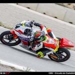 Puertollano: El joven piloto Quique López sigue luchando por la Copa Honda CBR