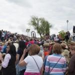 """15.000 romeros en Alarcos: El Ayuntamiento agradece el """"especial cuidado"""" con el que se trasladó la imagen de la Virgen hasta la ermita"""