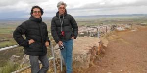 Jaume Quiles y Alberto Gutiérrez, directores del RuralFilmFest