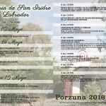 Porzuna celebrará este fin de semana la tradicional Romería en honor a San Isidro Labrador