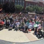 Garzón y Echenique convierten a Ciudad Real en la casilla de salida de Unidos Podemos hacia «el cambio de la gente corriente»