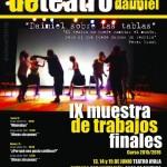 IX Muestra de trabajos finales de la Escuela Municipal de Teatro de Daimiel