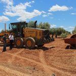 Las maquinaria de obras públicas de la Diputación ya está trabajando en el Camino del Cartabón