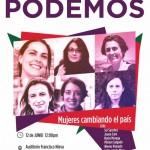 Sol Sánchez y Juana Caro presentarán en Valdepeñas el programa de igualdad de Unidos Podemos