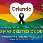 Concentración en la Plaza Mayor en repulsa por la masacre de Orlando
