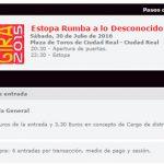 Las entradas del concierto de Estopa, a la venta por 31,30 euros