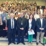 Reunión de trabajo de profesores de religión presidida por el obispo de Ciudad Real