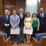 Ciudad Real: El Colegio de Médicos entrega tres becas de formación a alumnos de la Facultad de Medicina