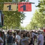 PP, PSOE y Ciudadanos trasladan la campaña electoral al mercadillo de Ciudad Real