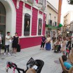 Puertollano: La alcaldesa acompaña al colectivo LGTB en la lectura del manifiesto el Día del Orgullo en Puertollano