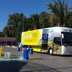 Puertollano: El bus Reciclaplus de Ecoembes buscará aumentar el uso del contenedor amarillo de envases ligeros