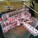 La Guardia Civil se incauta de más de 2.900 cajetillas de tabaco en la autovía de Andalucía