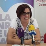 Juana Caro apela al «sentido común» de la ciudadanía y a la movilización «hasta el último segundo» para ganar al PP