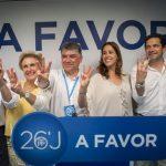 El PP celebra el resultado electoral y confía en que los «perdedores» respeten la voluntad popular