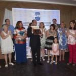 La Asociación de Vecinos Santo Tomás de Villanueva celebra entre amigos sus 25 años