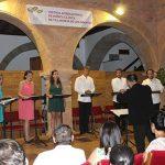 Arianna Esemble traslada al público de la Alhóndiga a la época de Cervantes y Shakespeare