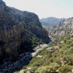 Empresarios del Valle de Alcudia proponen la construcción de unsendero colgante sobre el estrecho del Jándula