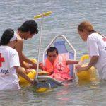 Cruz Roja pone en marcha el proyecto de baño adaptado