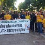 Podemos y la Plataforma de Bomberos de Ciudad Real comparten «inquietudes» sobre el servicio contraincendios en la provincia