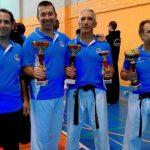 Karatecas de Ciudad Real y Puertollano se proclaman campeones de España de kumite veteranos