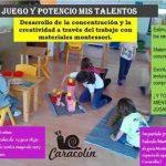 Caracolín ofrece talleres para familias con niños de 4 meses a 12 años