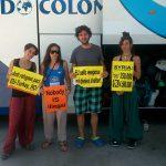 Los activistas ciudadrealeños de la Caravana a Grecia lamentan que la Embajada «despreciara» cinco autobuses para trasladar refugiados a España