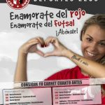 """El FSD Puertollano lanza su campaña de captación de socios: """"Enamórate del rojo"""""""